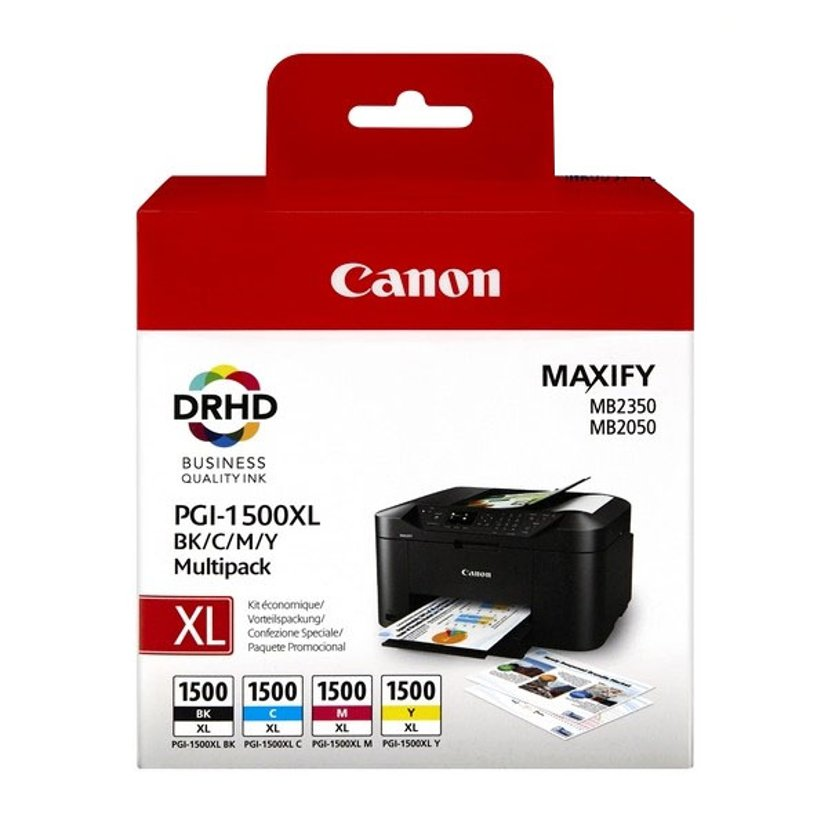 Canon Inkt Multipack PGI-1500XL BK/C/M/Y