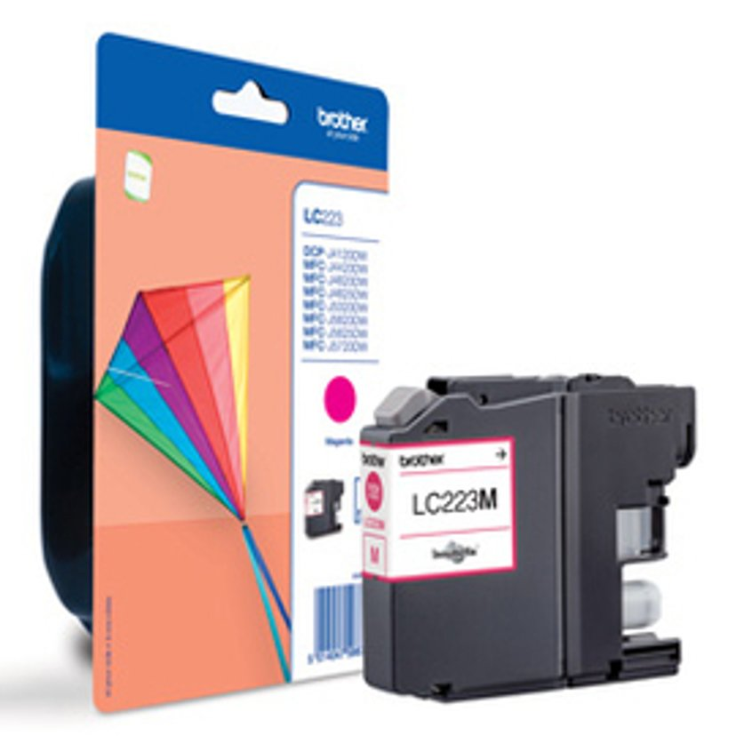 Brother Inkt Magenta LC223M, 550-SHEETS