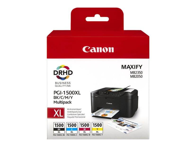 Canon Bläck Multipack PGI-1500XL BK/C/M/Y