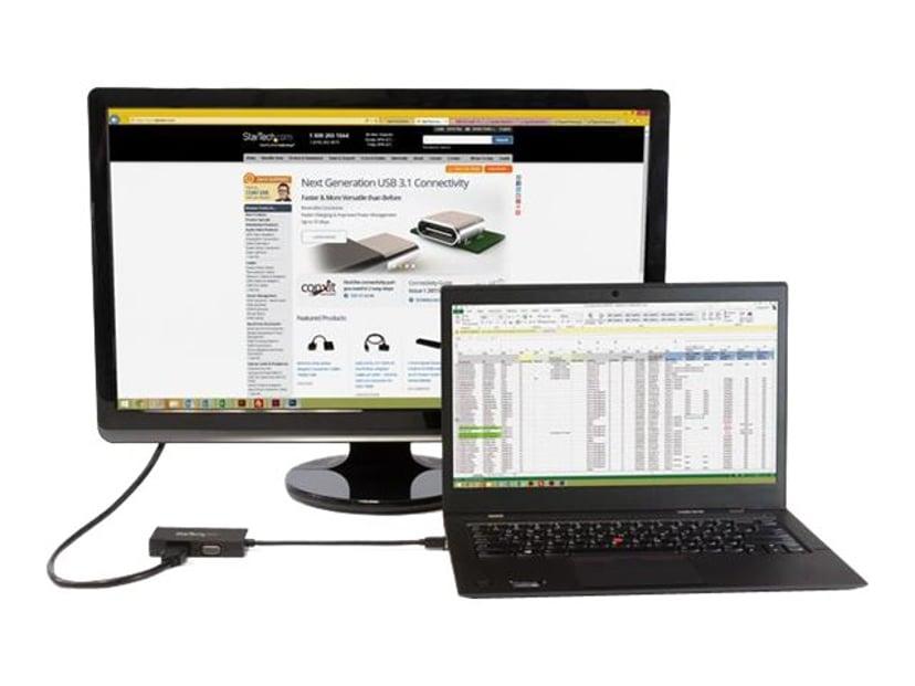 Startech Adapter DisplayPort Mini Hane VGA, DVI-D, HDMI Hona Svart
