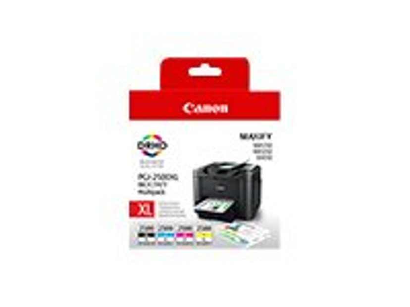 Canon Bläck Multipack PGI-2500XL BK/C/M/Y