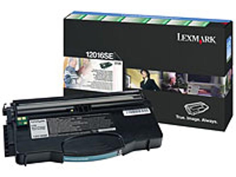 Lexmark Värikasetti Musta 2k - E120N Return