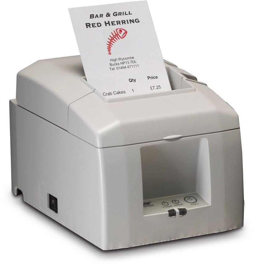 Star Receipt Printer TSP654UII USB Gray, Cutter Incl Wallmount