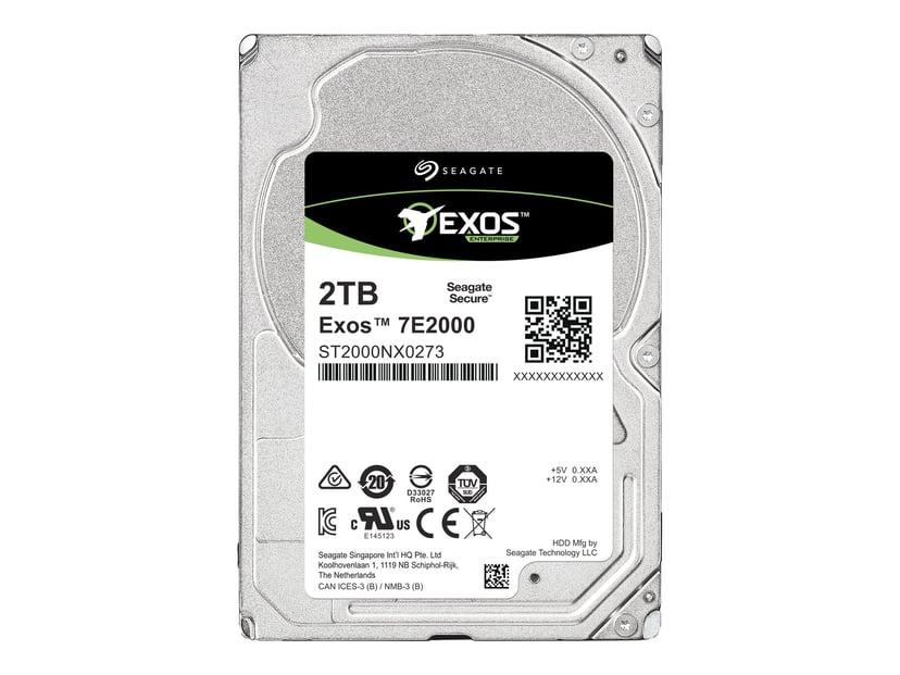 """Seagate Exos 7E2000 512E 2TB 2.5"""" Serial Attached SCSI 3"""