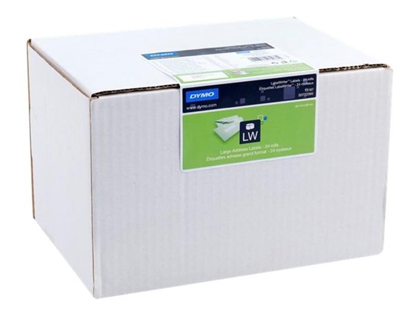 Dymo Etiketter Adress 89 x 36mm 24-Pack