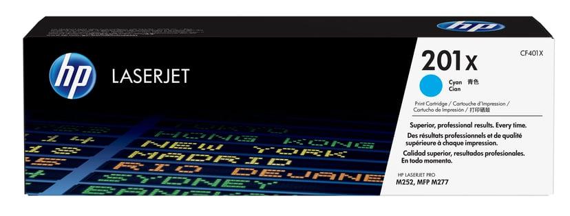 HP Toner Cyan 201X 2.3K - CF401X