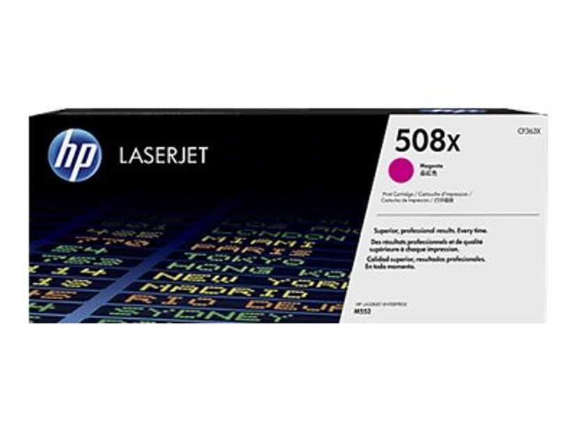 HP Toner Magenta 508X 9.5K - CF363X