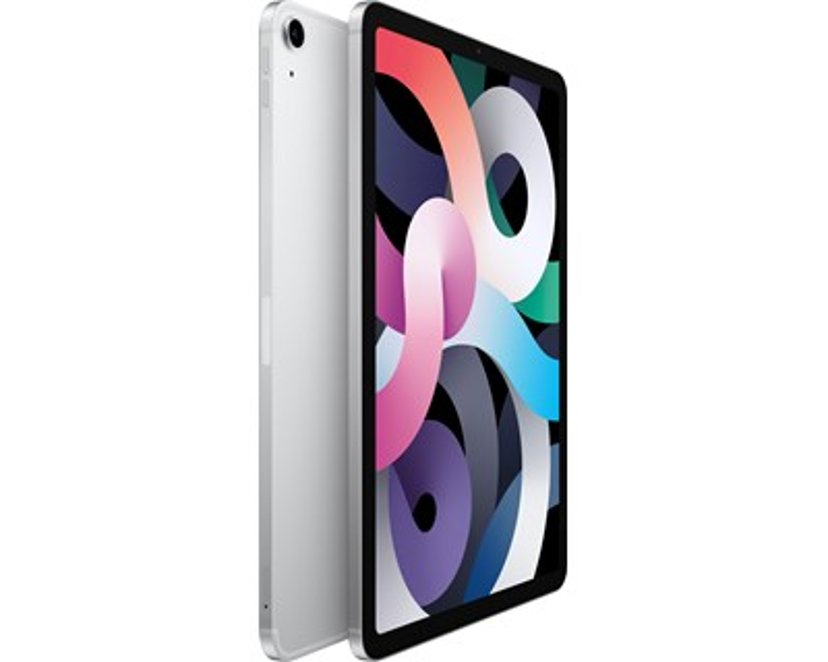 """Apple iPad Air 4th gen (2020) WiFi + Cellular 10.9"""" A14 Bionic 256GB Silver"""