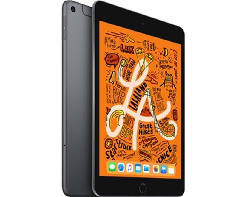 "Apple iPad Mini Wi-Fi + Cellular 7.9"" A12 Bionic 64GB Avaruuden harmaa"