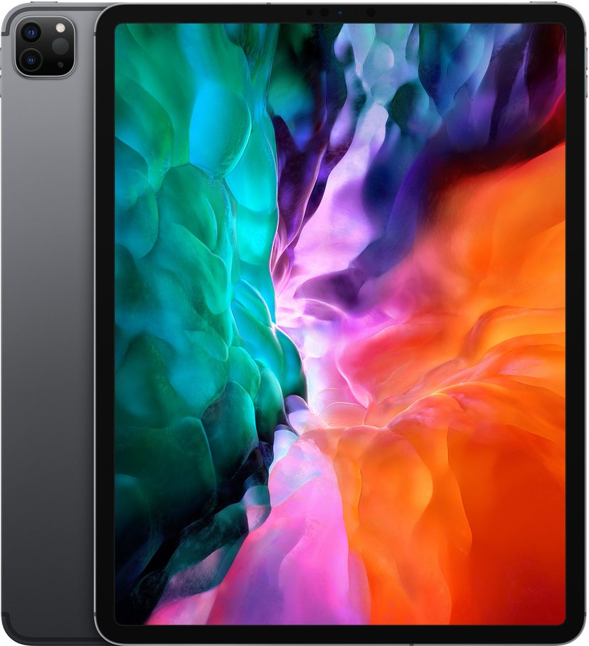 "Apple iPad Pro Wi-Fi + Cellular (2020) 12.9"" A12Z Bionic 128GB Rymdgrå"