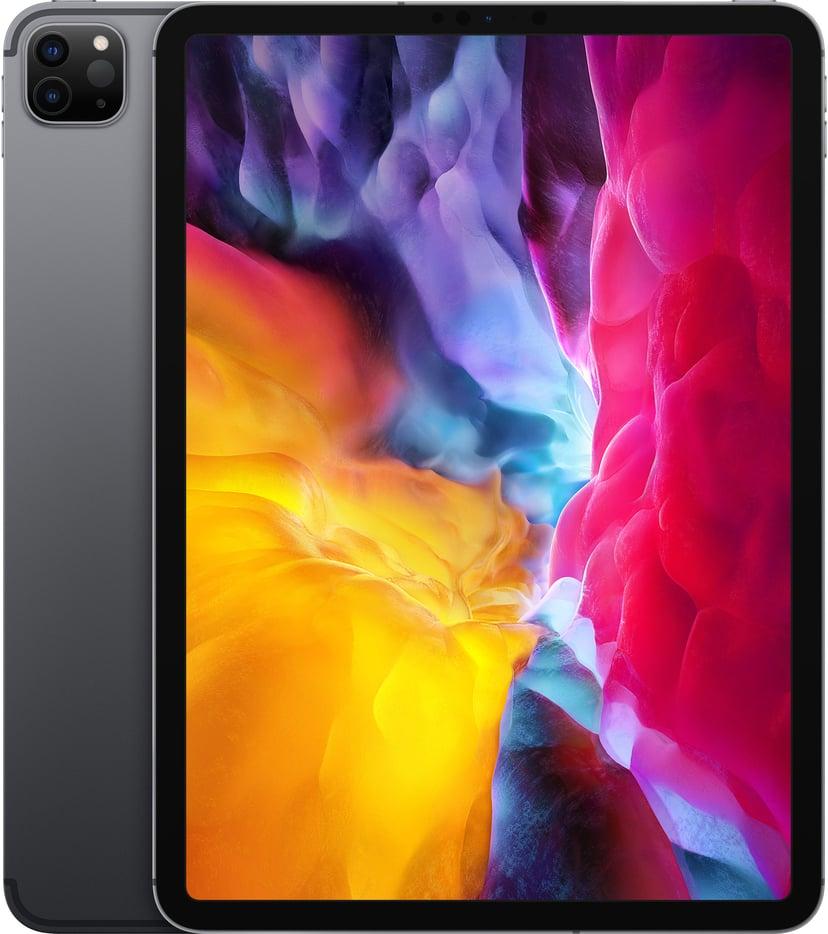 """Apple iPadPro Wi-Fi + Cellular (2020) 11"""" A12Z Bionic 128GB Rymdgrå"""