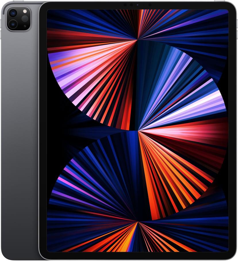"""Apple iPad Pro 12.9' Wi-Fi (2021) 12.9"""" M1 1,000GB Rymdgrå"""