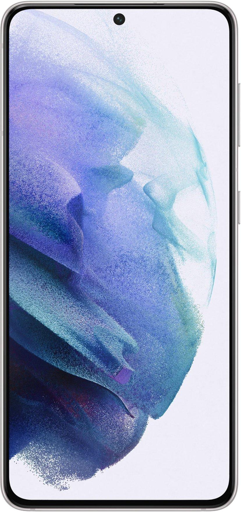 Samsung Galaxy S21 5G 256GB Dual-SIM Fantom hvid