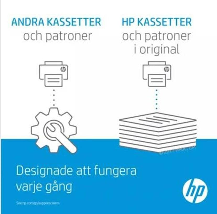HP Toner Sort 125A 2.2K - CB540A